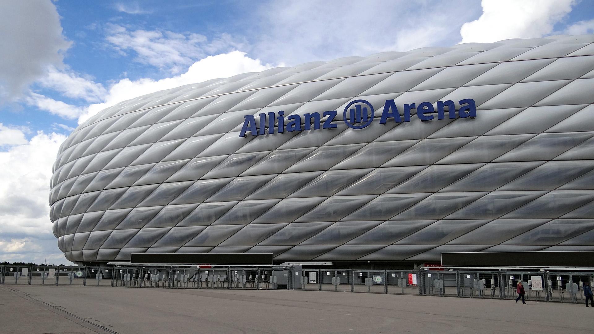 Header Allianz-Arena – Wohnzimmer des FC Bayern