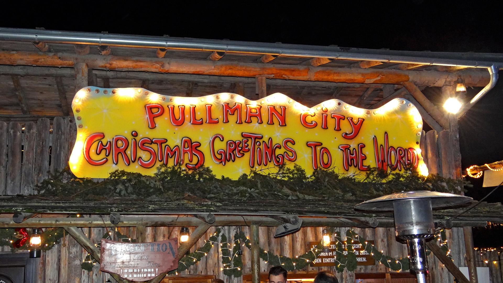 Header Hauzenberg / Pullman City – Weihnachten mal anders